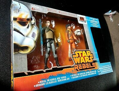 STAR WARS REBELS - KANAN & EZRA - Figures with Secret Figure -Hasbro 2014 Sealed