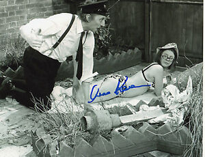 ON THE BUSES personally signed 10x8 - ANNA KAREN as OLIVE