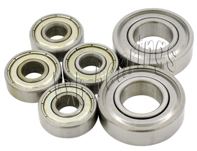 Ripstik Complete Set of 6 Ball Bearings for Caster Board Ripstick Pack