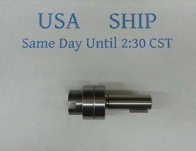 Shaft with Bearings Replaces Sherwood 12444 Westerbeke 16423 Perkins NA003335 (Sherwood Shaft)