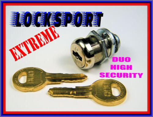 LOCKSPORT: TRIPLE-BITTED HIGH-SECURITY CAM LOCK - ILLINOIS LOCK CO., Circa 1993