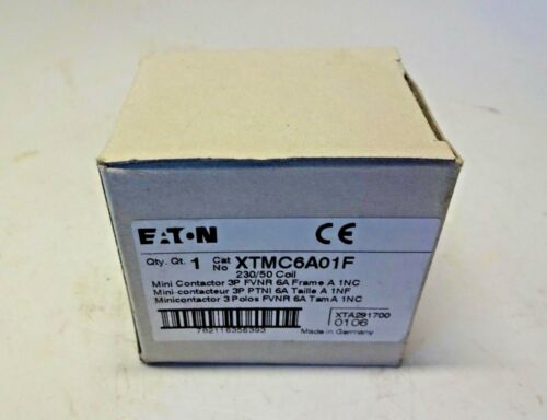 XTMC6A01F Eaton Cutler-Hammer 230/50 Coil Contactor