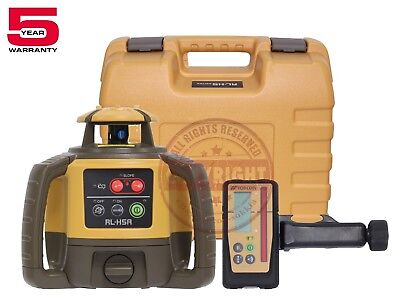 Topcon Rl-h5a Rechargeable Self-leveling Rotary Grade Laser Levelslope Rb