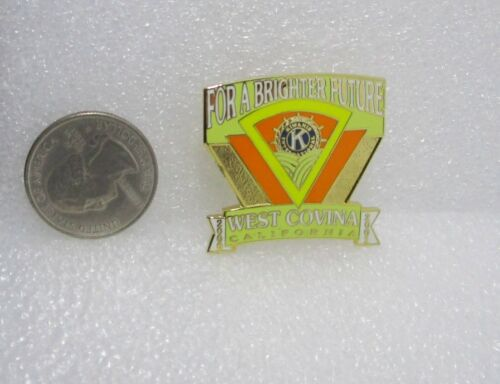 2000-01 Kiwanis International West Covina California Pin