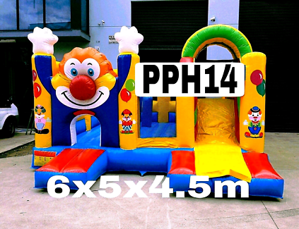 Clown Jumping castle hire