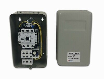 New Magnetic Motor Starter Control 5hp Single Phase 230vac Compressor Motor