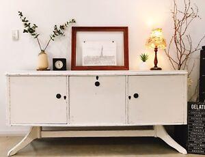 Credenza Perth Wa : White credenza in perth region wa furniture gumtree australia