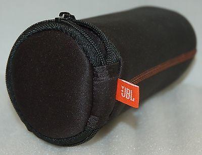 Original JBL FLIP 1/2 Zipper Sleeve Case BLACK Travel Bag bluetooth speaker skin comprar usado  Enviando para Brazil
