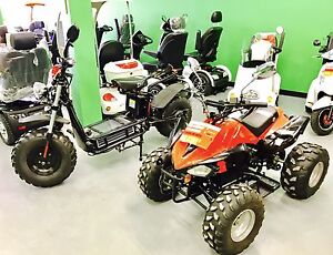 Electric ATV, Scooters
