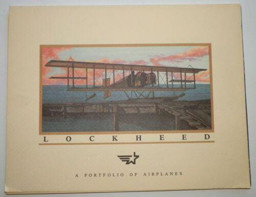 Lockheed Portfolio of Airplanes 16 Color Photos