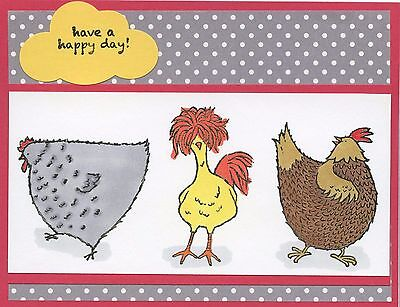 Поздравительные открытки Chickens 'Have a happy