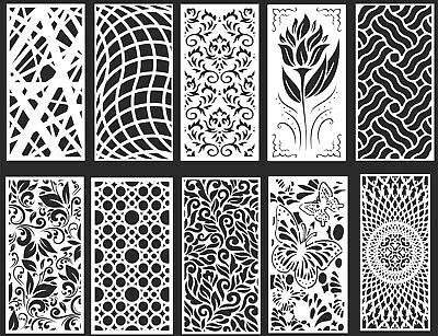 Dxf-cdr Of Plasma Laser Router Cut -cnc Best 10 Panel Items