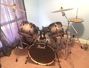 Birch Pearl Drum Kit Darlington Mundaring Area Preview