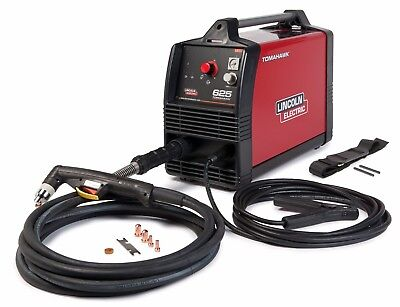 Lincoln Electric Tomahawk 625 Plasma Cutter With 20 Foot Hand Torch K2807-1