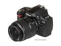 Nikon D40 camera with 18-55mm & 55-200mm lens plus extras