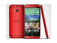 HTC M8 - RED (Limited Edition) - New & Unlocked