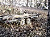 trailer tandem 16 ft