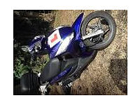 Honda Vision 50cc, 1 previous owner, 12 months MOT, Honda serviced
