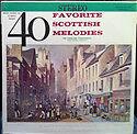 Forty Favorite Scottish Melodies - Highland Symphonette - LP
