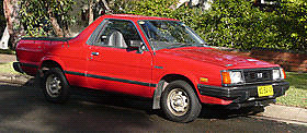 A la recherche de SUBARU BRAT  1978-1994 Looking for