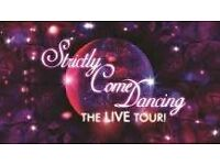 STRICTLY DANCING TOUR 2017 GLASGOW, BARGAIN TICKETS