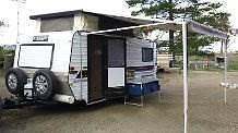 Evernew Caravan with Pull out awning and fully enclosed annex Sunbury Hume Area Preview