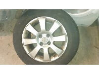 Vauxhall Astra H Club alloy wheel in good condition.