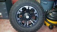 """XD Series 20"""" Wheels with 35"""" Goodyear Tires"""