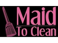 Maid to Clean Cleaning & Daily Chore Services
