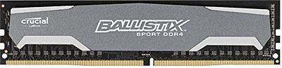 Crucial Ballistix Sport 4Gb Ddr4 2400 Mhz Pc4 19200 Cl16 288 Pin Desktop Memory