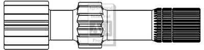 Brake Sun Shaft Case Ih 2470 2670