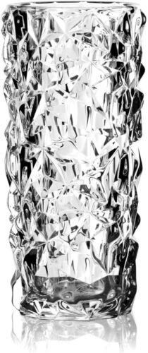 Orrefors Sweden Crystal Carat Vase Lena Bergstrom Design GEMSTONES