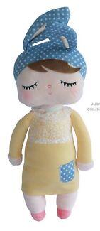 Sweet Dreams Sleepy Doll Yellow & Blue Bunny Ears Brand New