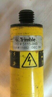 Trimble 5115-060 Gps Survey Antenna Tripod Pole Extensions R8r10 5800 Used