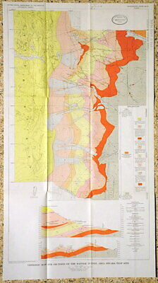 USGS NEVADA NUCLEAR TEST SITE STRUCTURAL GEOLOGY NV With all orig maps! NUKE IT!