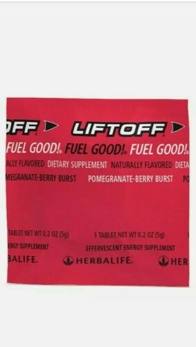 LIFTOFF Effervescent Energy Suport HERBALIFE 10 TABLETS  1