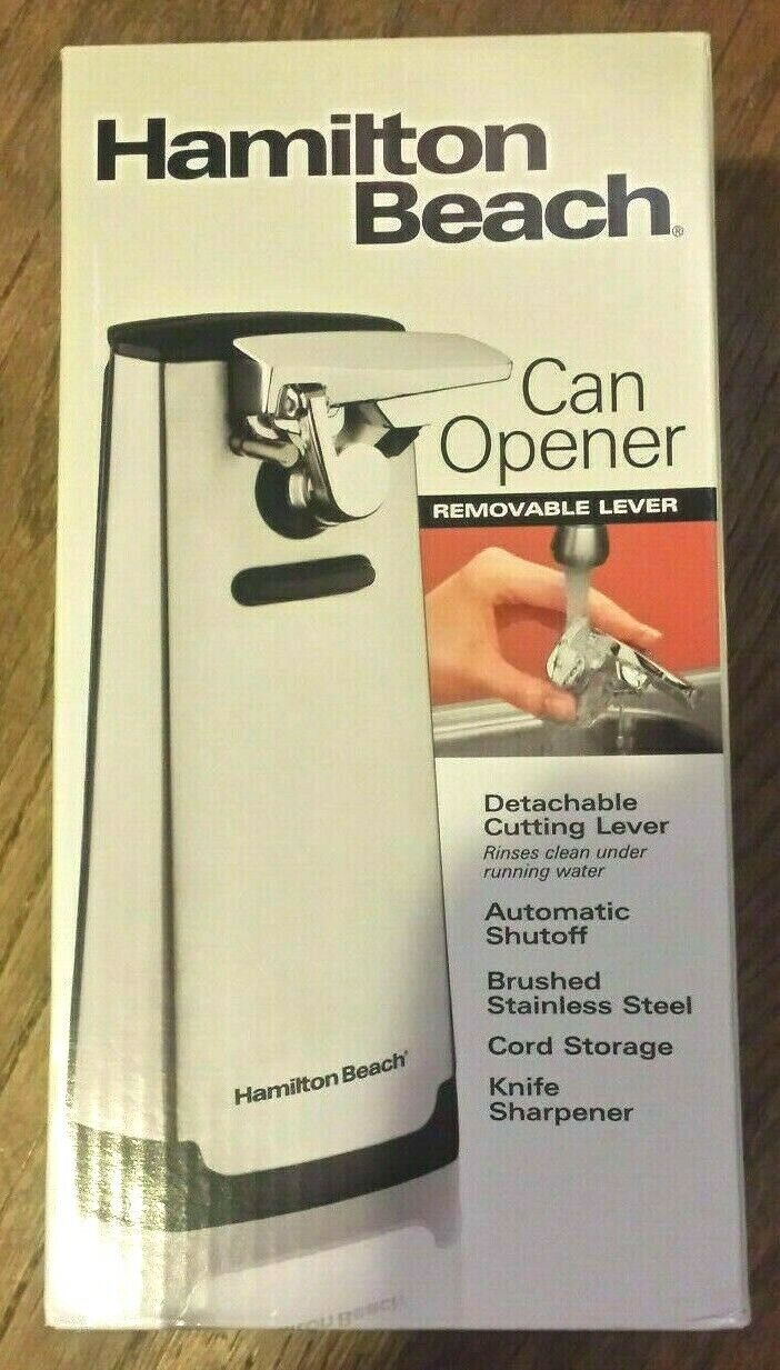BRAND NEW - Hamilton Beach Electric Automatic Can Opener w/