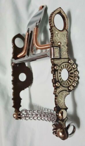 "Vintage German Silver Santa Barbara Spade Bit #B-1621GS MP-73 Patina (5-1/8"")"