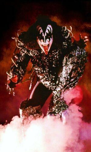"KISS Gene Simmons ""Fire Demon"" Custom ""24 x 40"" Inch Poster - Rock Band"