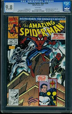 Amazing Spider-man 356 CGC 9.8 WHITE Marvel Copper Age Key Comic I.G.K.C.L@@K !!