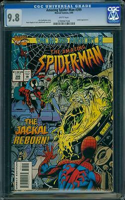 Amazing Spider-man 399 CGC 9.8 WHITE Marvel Copper Age Key Comic I.G.K.C.L@@K !!