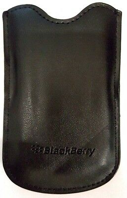 BlackBerry Pearl 8100 8110 8120 Protective Leather Pocket Pouch (Blackberry Pearl Leather Pouch)