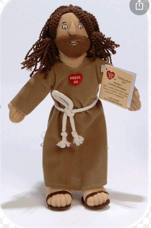 """RARE Prototype 12"""" Talking Jesus Doll Original and NIP"""
