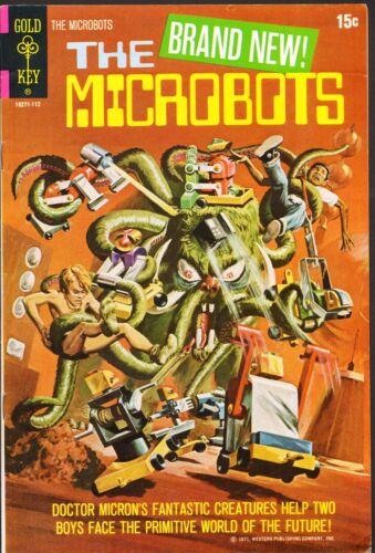 The Microbots #1 VG/F (Gold Key 1971)