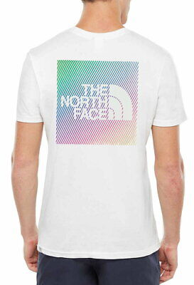 The North Face Short Sleeve RNBW T-Shirt In White
