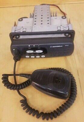 Motorola GM340 VHF High Band Mobile Radio c/w DIN Dash Mounting Bracket