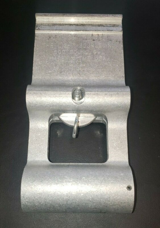 """The Light Source Mega Airwall Hanger 4"""" Silver - 500lb SWL - Used 10 available"""