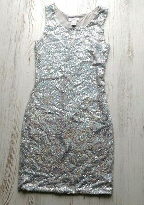 Candies Juniors XS dress sequins party cocktail shimmery shiny holiday new years