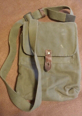 Surplus Yugo AK Mag Pouch w/ Vinyl Liner and Shoulder Strap Holds 4(30rd mags)