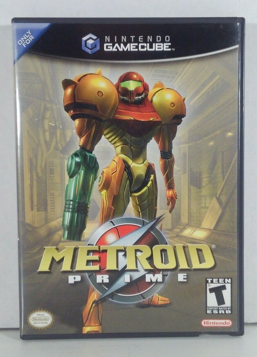 """METROID PRIME"" 2002 GAMECUBE GAME- Nintendo - Excellent Cond."